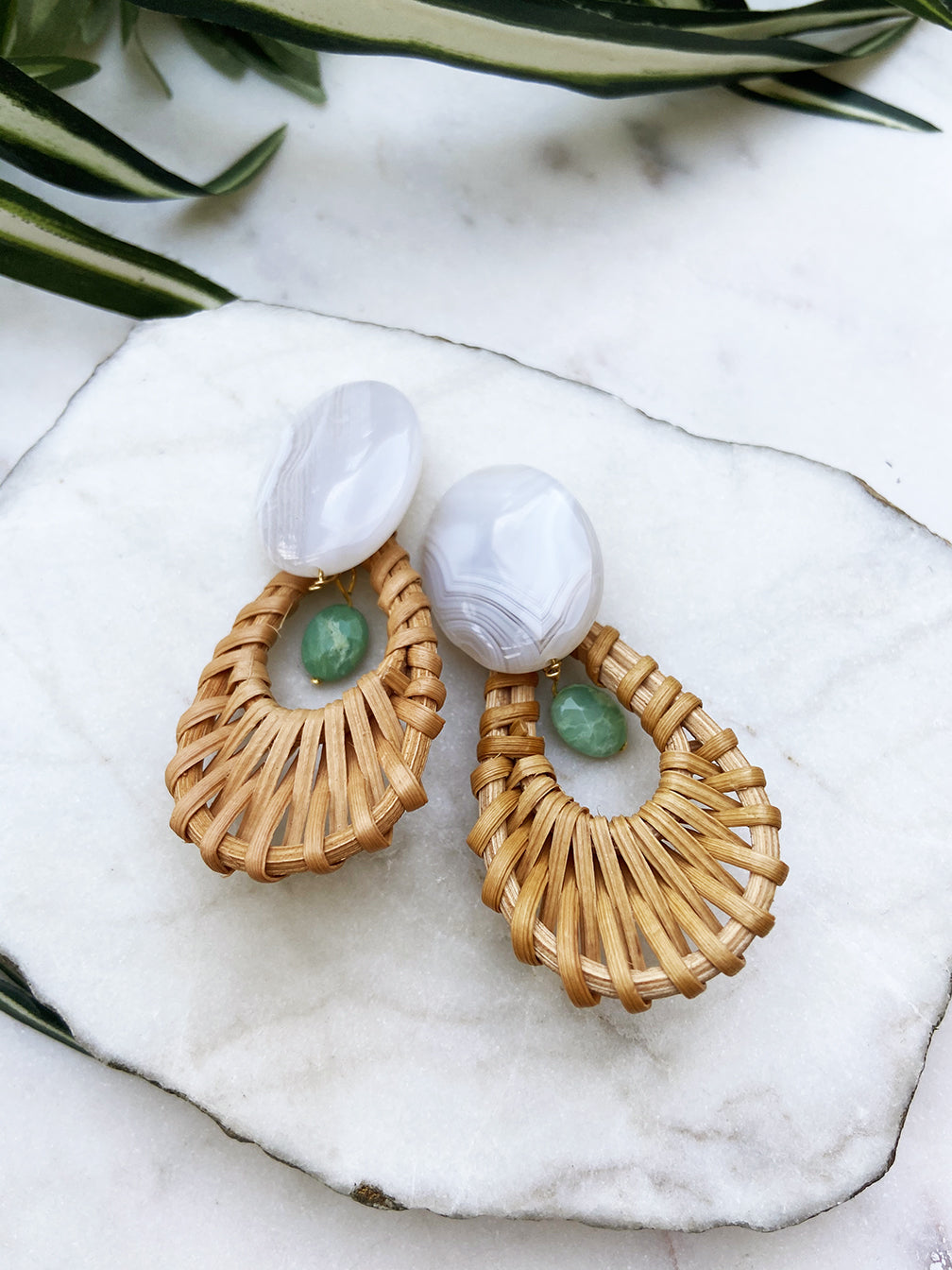 cabana earrings - CB-02-ER