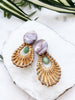 cabana earrings - CB-11-ER