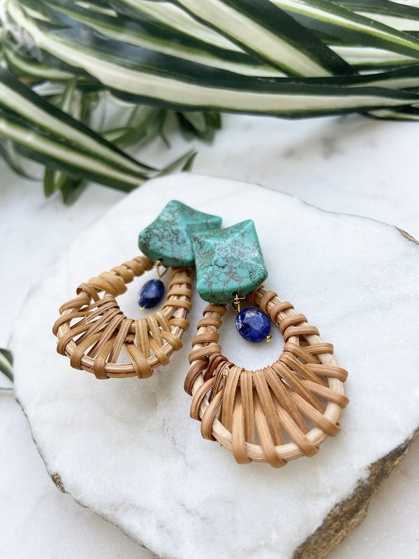 cabana earrings - CB-15-ER