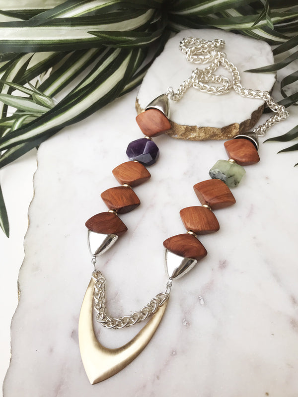 groove necklace -GR-001-NL
