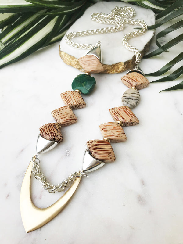 groove necklace - GR-003-NL