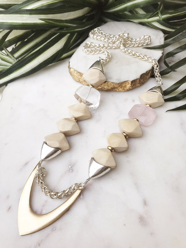 groove necklace - GR-004-NL