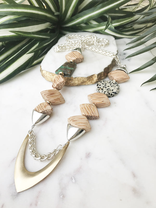 groove necklace - GR-007-NL