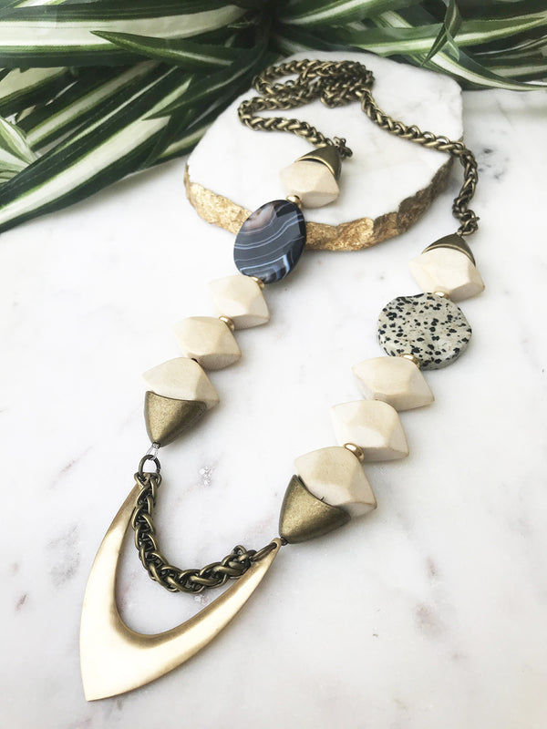 groove necklace - GR-008-NL