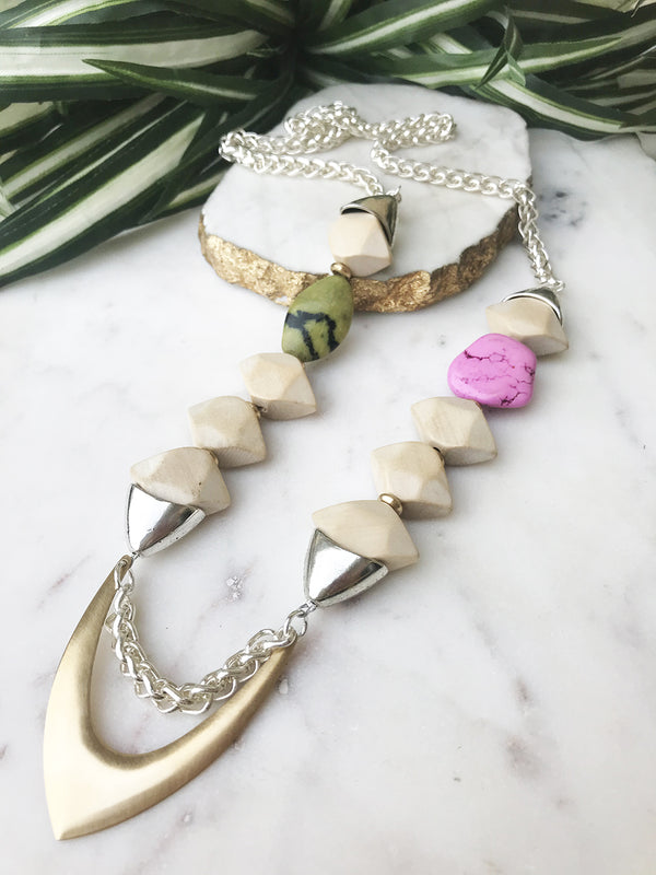 groove necklace - GR-013-NL