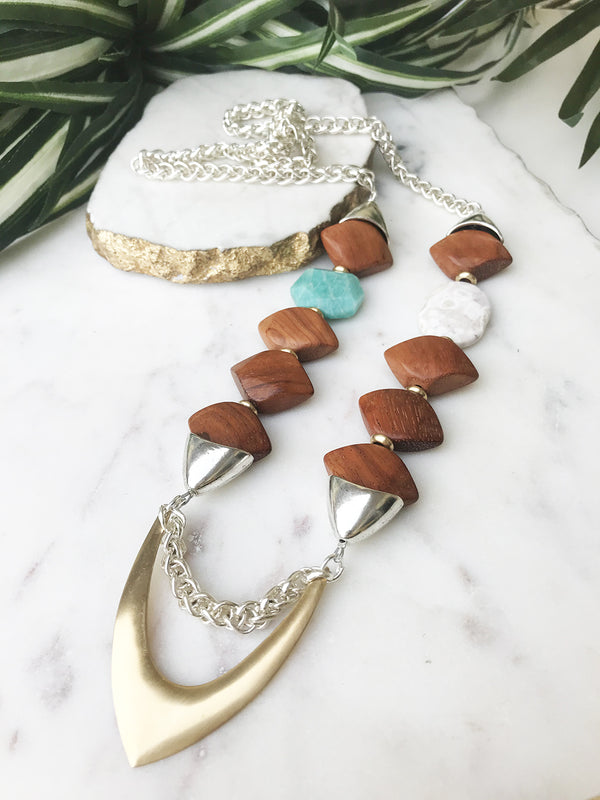 groove necklace - GR-014-NL