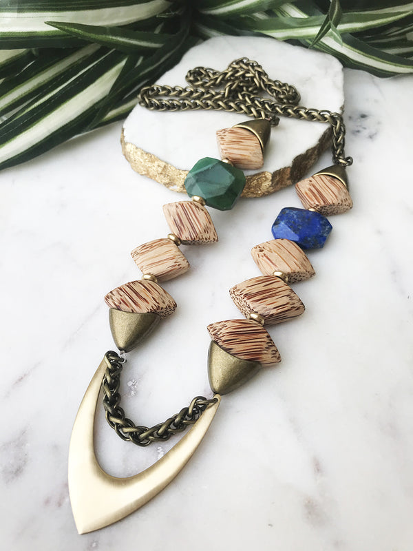 groove necklace - GR-015-NL