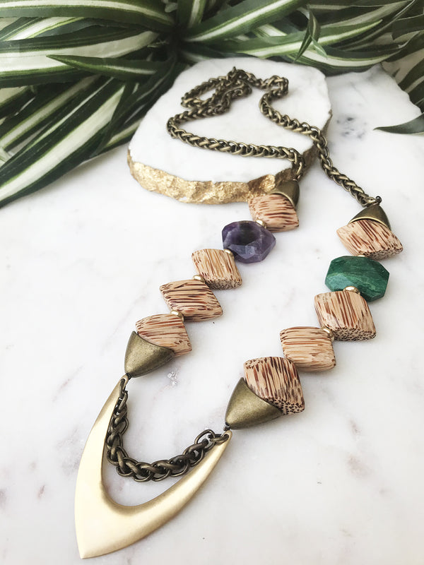 groove necklace - GR-019-NL
