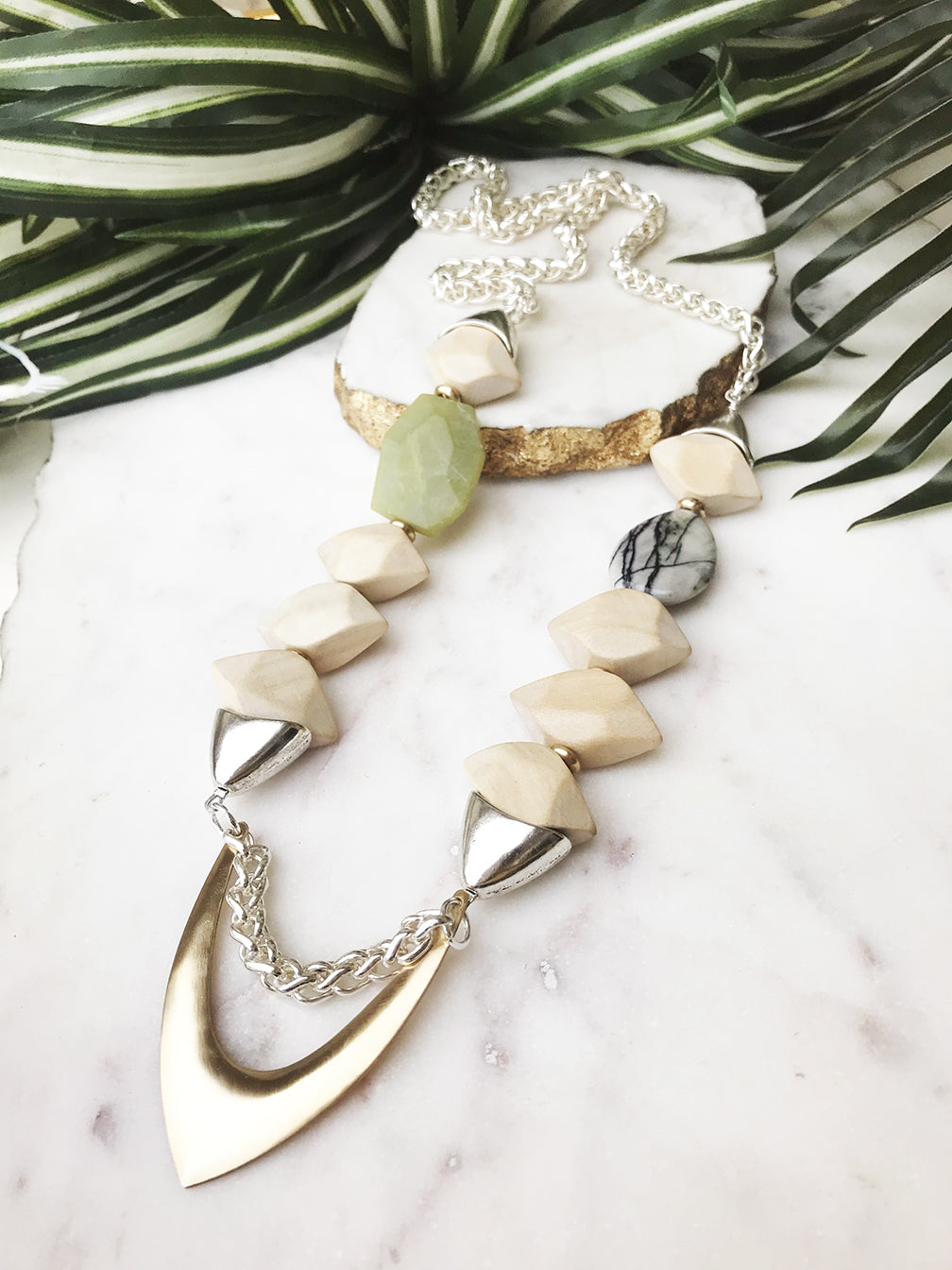 groove necklace - GR-021-NL