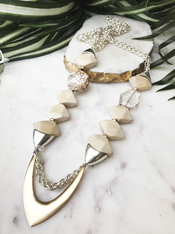 groove necklace - GR-023-NL