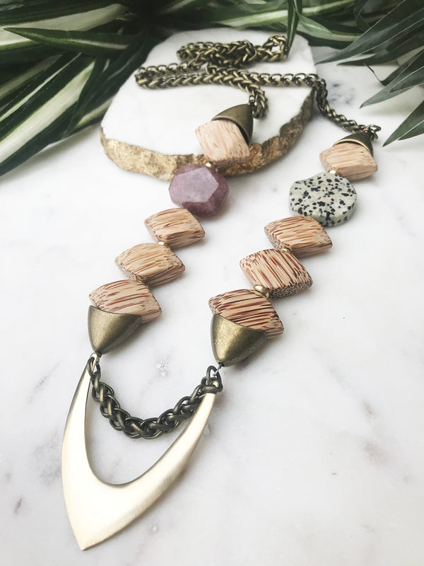 groove necklace - GR-025-NL