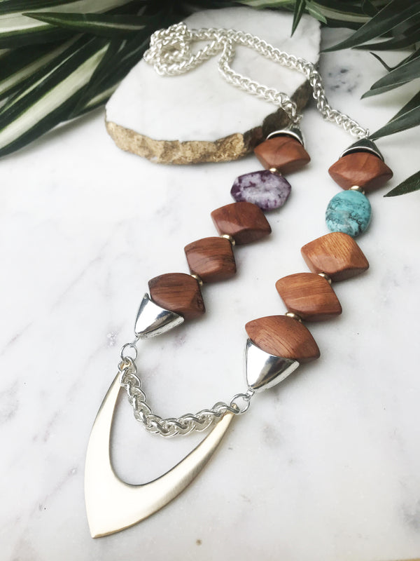 groove necklace - GR-027-NL