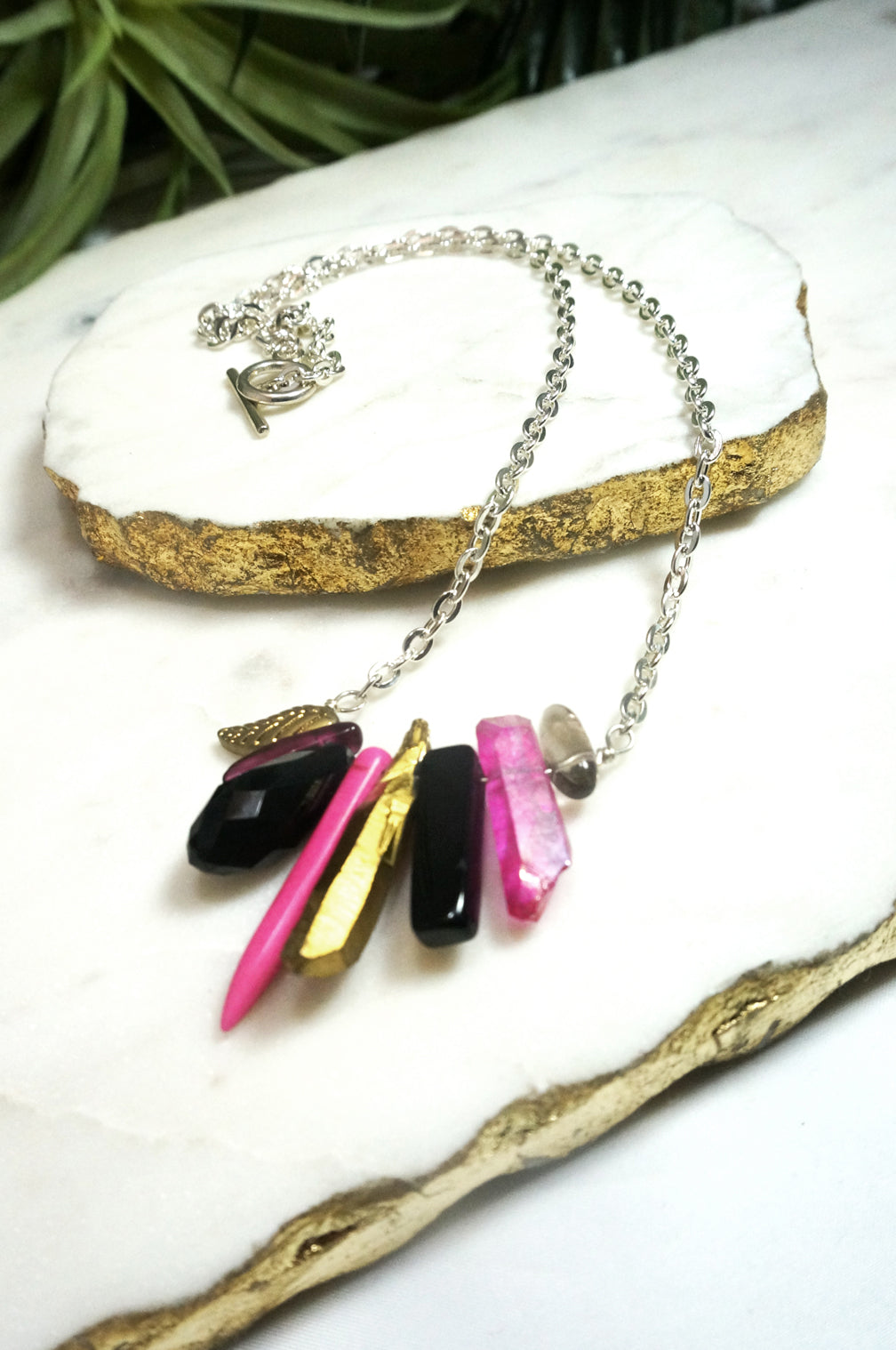 mini rockstar necklace - RS-M-004-NL