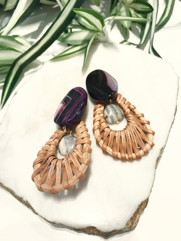 cabana earrings - CB-020-ER
