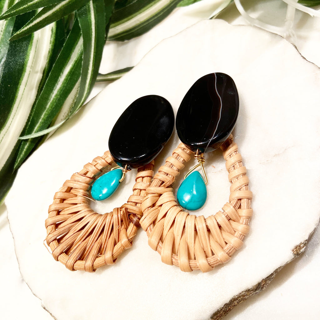 cabana earrings - CB-032-ER