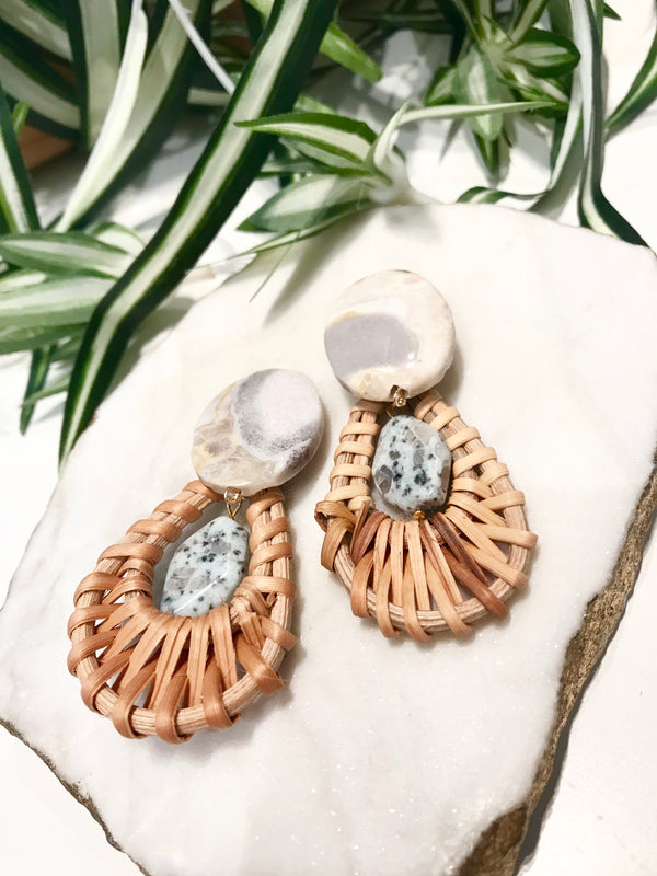 cabana earrings - CB-0018-ER