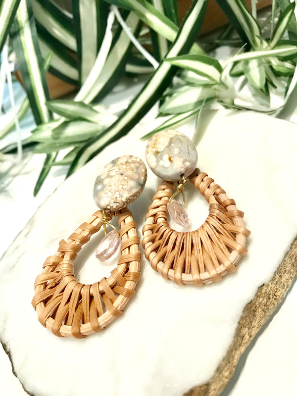 cabana earrings - CB-023-ER
