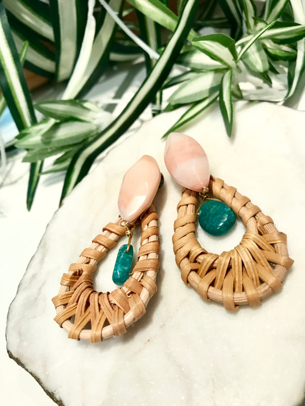cabana earrings - CB-022-ER