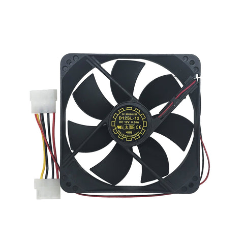 how to install fans