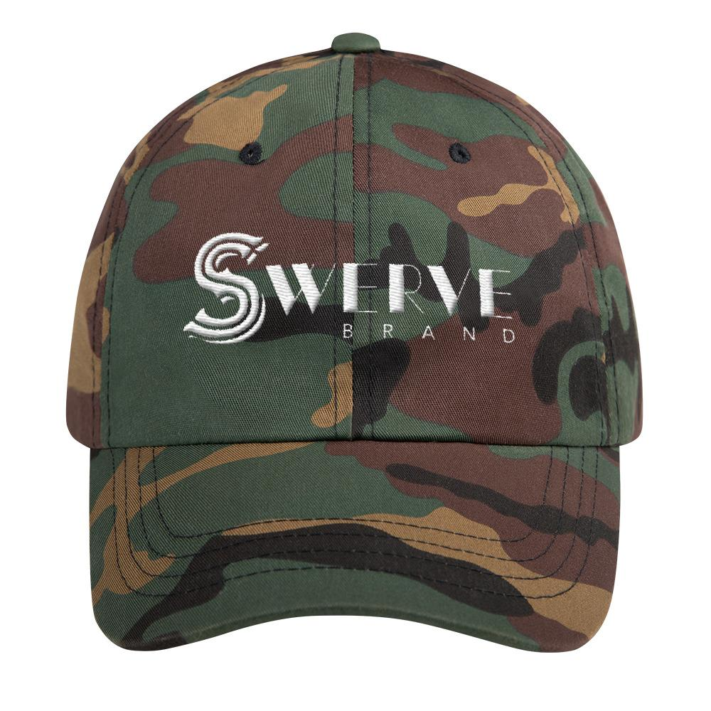 [Black S Logo Snap-back Hat] - Swerve Brand