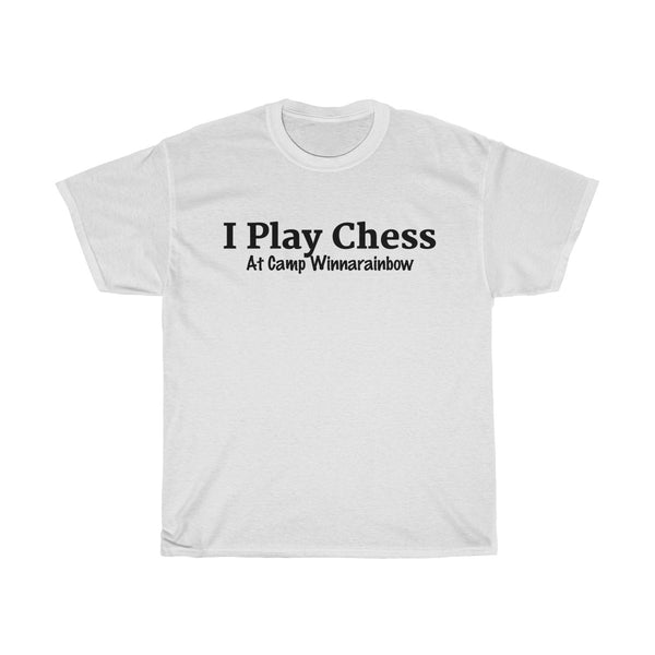 ADULT T-Shirt Tie Dye I Play Chess