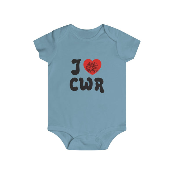 I Love CWR Infant Snap Onesie