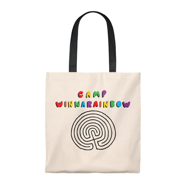 Tote Bag Camp Winnarainbow Bubble Letter Labyrinth