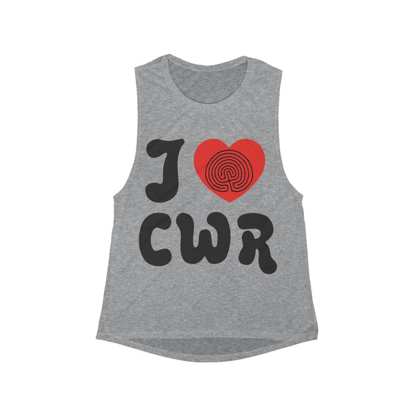 I Love CWR Muscle Tank