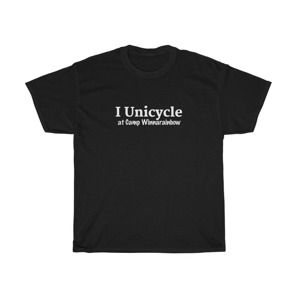 ADULT T-Shirt I Unicycle