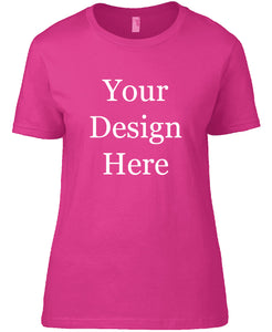 Womens Coloured Design Your Own Geocaching T-shirt
