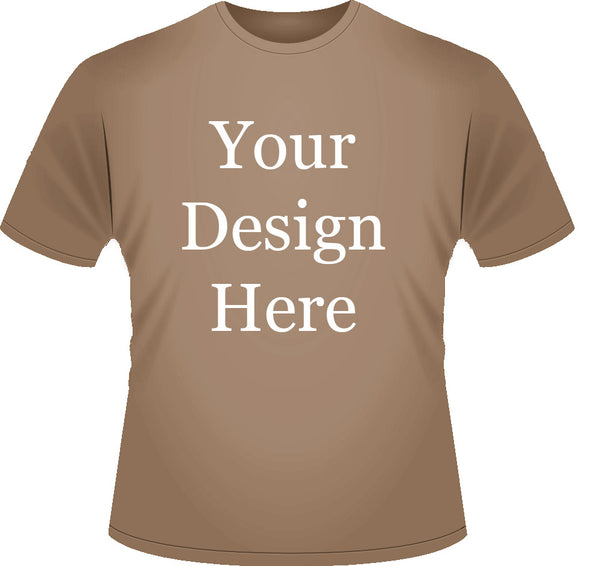 Mens Coloured Design Your Own Geocaching T-shirt