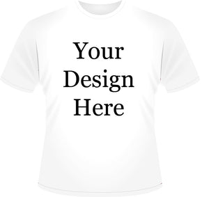 Mens White Design Your Own Geocaching Tshirt