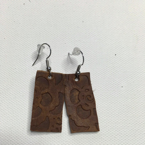 Adult Leather Earrings - Southern Chique Boutique