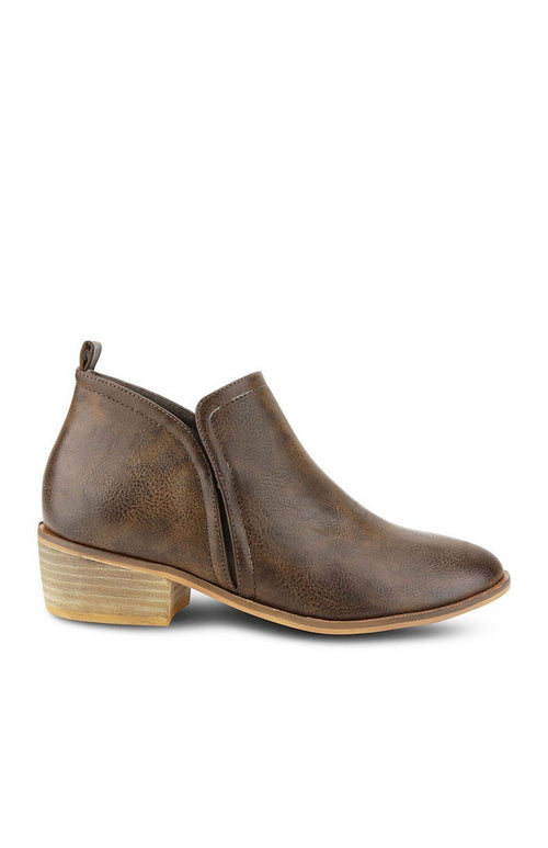 Side Cut Out Booties - Southern Chique Boutique
