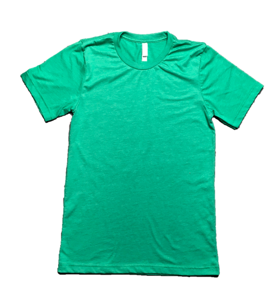 Heather Green Short Sleeve T-Shirt