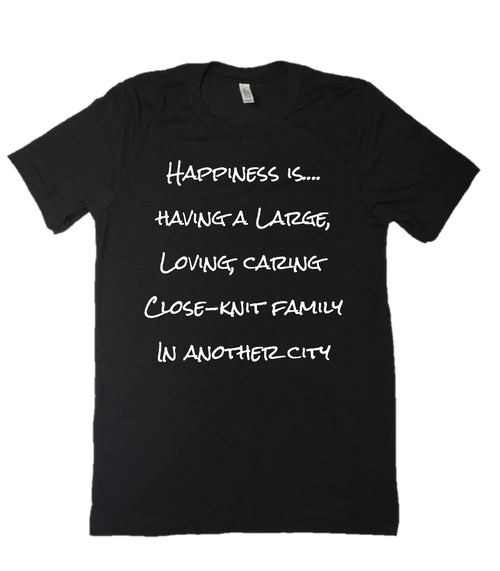 Happiness having a Large Family Graphic Tee