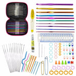 90 PC Crochet Hooks Set With Carrying Case - Sew Right Studios