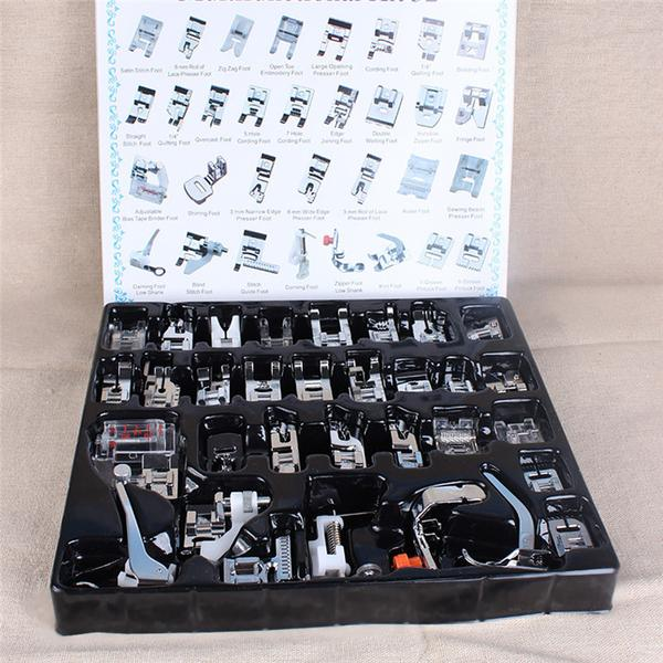 32 Piece Sewing Machine Presser Feet Set