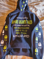 Black Bluespruce Whitetails Hoody