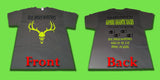 Short Sleeve T shirts black grey or pink