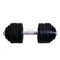 3ox Dumbbells 52.5lbs djustable Black Plated Iron Dumbbell
