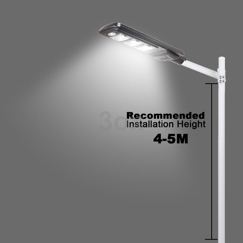 3ox 20W 40W 60W Solar LED Street Light Outdoor Backyard Wall Lamp PIR