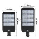 3ox 150W 200W Commercial LED Road Street Light Flood Shoebox Industrial Lamp 6000K