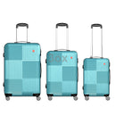 3ox 3-Piece Hardside Luggage Set with Spinner Wheels Lightweight 20'' 24'' 28''