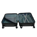 3ox 3 Pieces Hardside Spinner Luggage Set Lightweight 20'' 24'' 28'' Trolley Suitcase
