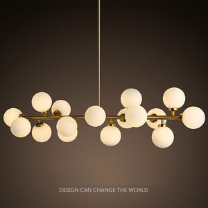 Modern LED Chandelier Light Fitting 16 LED Lights Bubble Chandelier  Restaurant Hanging Lamp Pendant Suspension Drop
