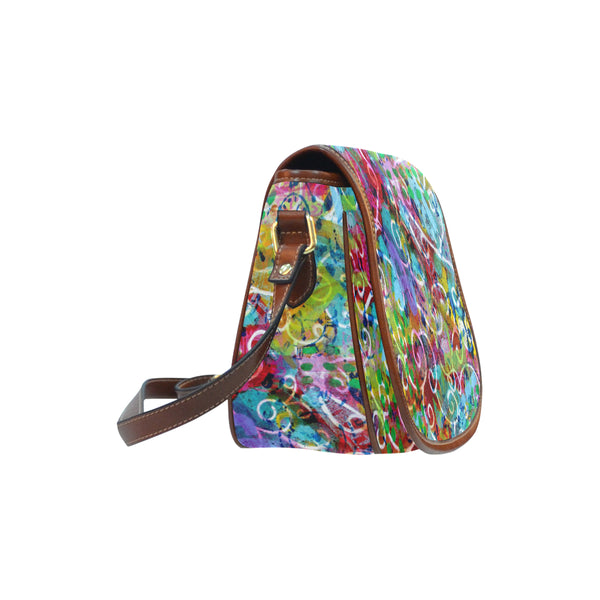 Time Small Saddle Bag (Model 1649) (Small)