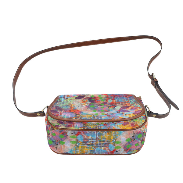 Fingerprints Big Saddle Bag (Model 1649) (Big)