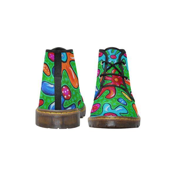 Women's Flowers Short  Boots