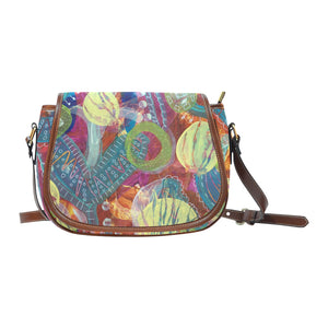 Behind Me Small Saddle Bag (Model 1649) (Small)